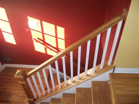 stair banister installation top of stair baby gate banister best baby gate for stairs