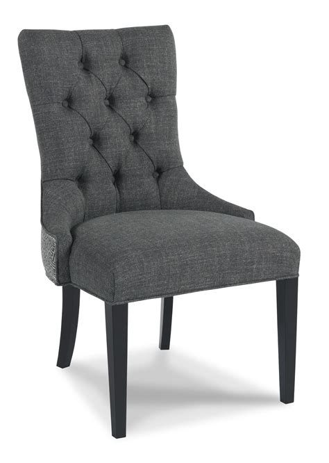 tufted nailhead dining room chairs sam walden 3917 traditional upholstered button