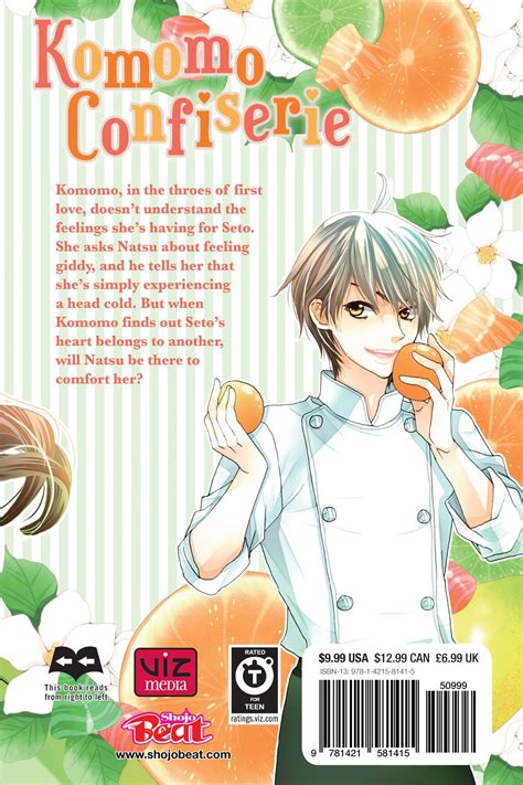 Komomos Confiserie Vol 1 komomo confiserie vol 3 book by maki minami official publisher page simon schuster canada