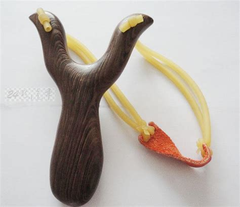 high power wenge wood slingshot with handle handmade