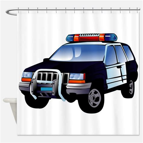 blue curtain police police shower curtains police fabric shower curtain liner