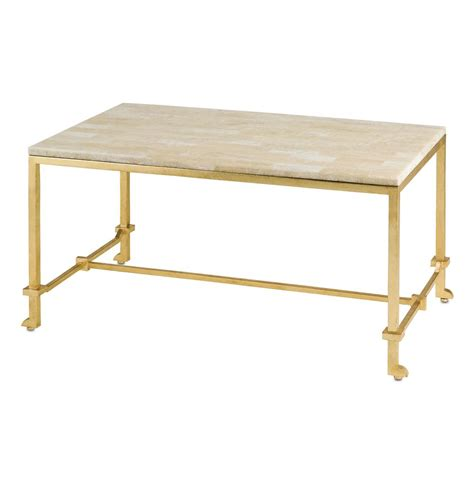 Gold Leaf Coffee Table Classic Regency Gold Leaf Coffee Table Kathy Kuo Home