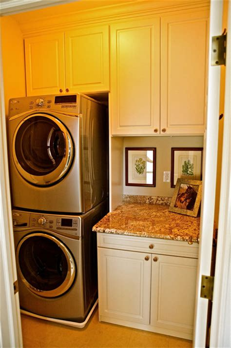 small laundry room traditional laundry room
