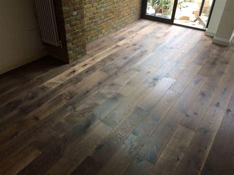 tumbled oak engineered scraped and