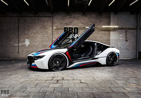 custom bmw custom wrapped bmw i8 by prowrap in the netherlands gtspirit