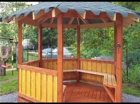 pavillon rundholz gartenhaus selber bauen gartenhaus bauen laube pavillon