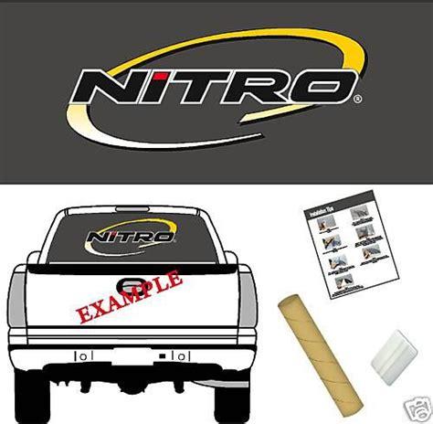 nitro boats sticker buy nitro boats logo decal vinyl sticker graphic