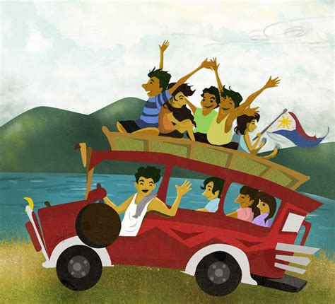 philippine jeep drawing jeepney by christalle09 on deviantart
