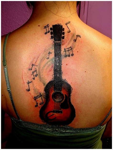 tattoo ideas guitar 25 creative guitar tattoo designs