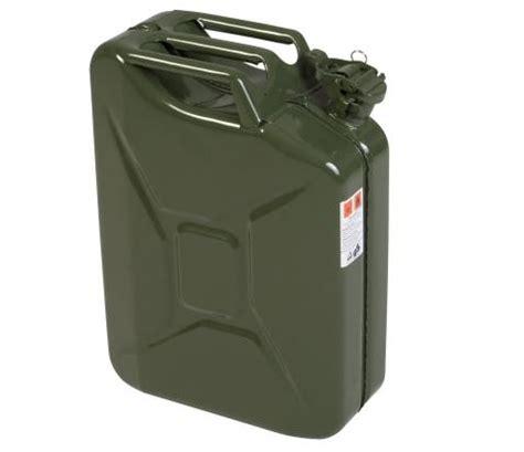 küchen kanister aus rostfreiem stahl kanister 20 liter aus stahlblech oliv terranger