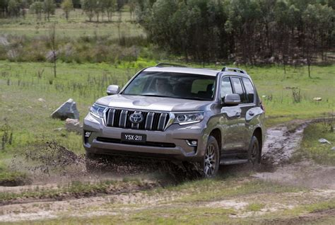 land cruiser toyota 2018 2018 toyota landcruiser prado now on sale in australia