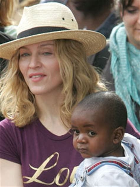 Madonna Might Adopt Another Baby by Madonna I May Adopt Another Child From Malawi Celebsnow