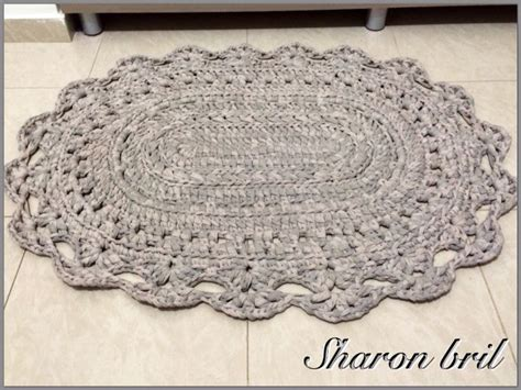 oval rug crochet pattern 17 best images about crochet oval rug on crochet doily rug trapillo and oval rugs