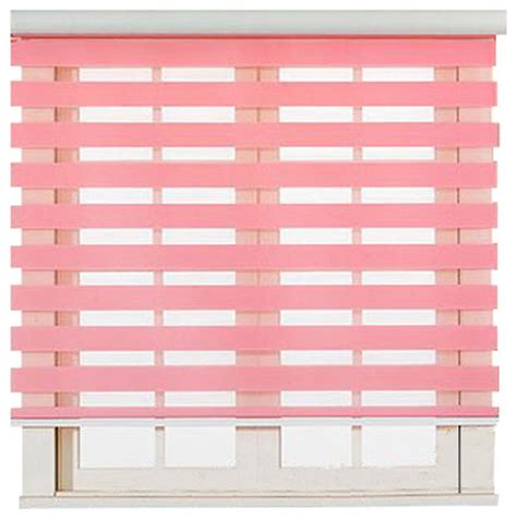 Black And Pink L Shade by Roller Zebra Blind Light Filtering Sheer Shade Pink 36