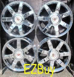 22 Inch Cadillac Rims For Sale 22 Quot Inch Escalade Factory New Chrome Wheels Rims 5309 With