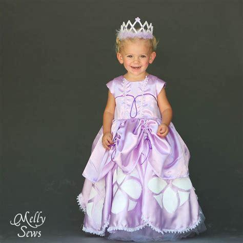 Dijamin Dress Princess Sofia 2 inspired by princess sofia the dress tutorial