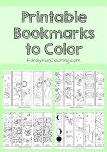 bookmarks to color 25 best ideas about printable bookmarks on