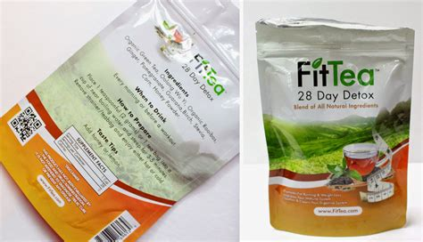Fit Tea 28 Day Detox by Misfit Makeup Healthy In The