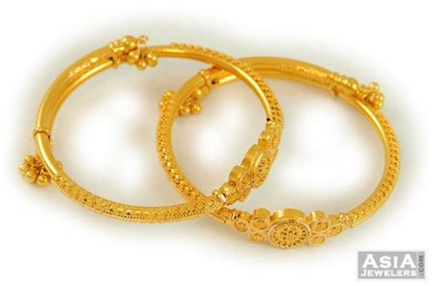 Chil Kid Gold photo collection gold bangles models childrens
