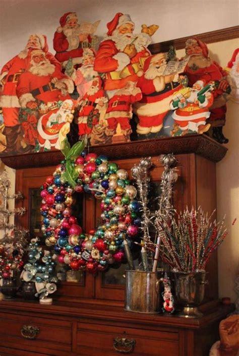vintage christmas decorations 25 best ideas about vintage christmas decorating on