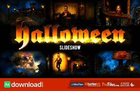 template after effects halloween halloween videohive project free download free after