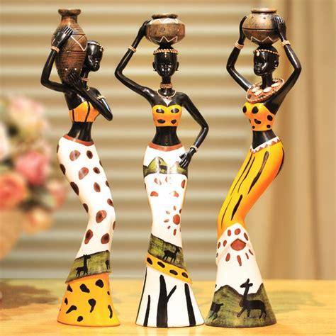 african decorations for the home online buy wholesale african art figurines from china