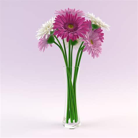 Gerbera Vase by 3d Vase Gerbera Flowers