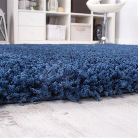 hochflor teppich blau shaggy blau hochflor langflor teppich blue einfarbig top