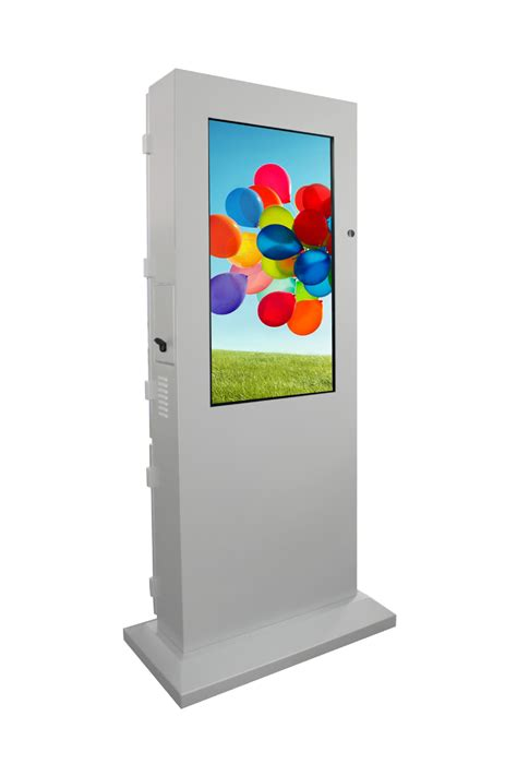 display tv 55 inch led touch screen display stand outdoor menu stand