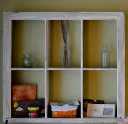 thrifty decorating using windows as storage solutions