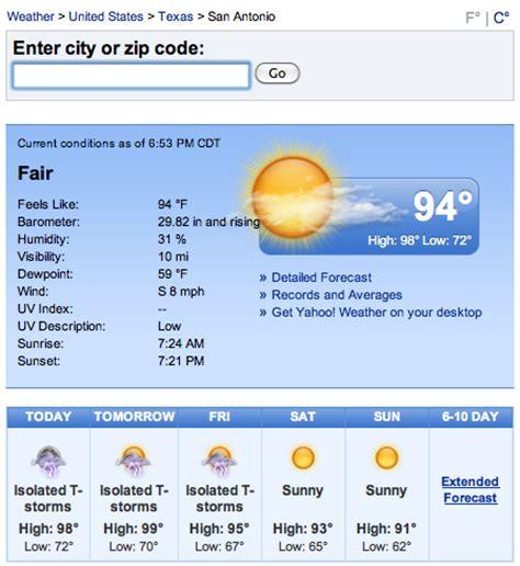 For Ten Days In San Antonio by San Antonio Weather September October