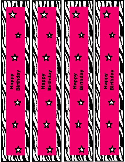 free printable zebra birthday cards 475 best images about animal print printables on pinterest