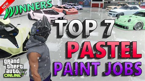 gta crew challenges gta 5 best pastel paint 7 modded crew colors