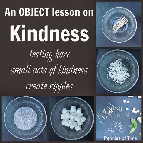 a difference teaching kindness character and purpose books object lesson on acts of kindness pennies of time