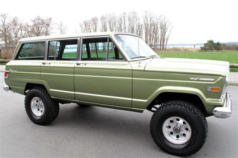 1970 jeep comanche pin amc jeep wagoneer on pinterest