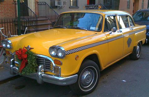 a cab just a car last of the checker taxi cabs 1n11 also