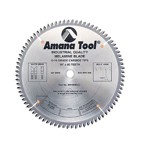 Selecting the right table saw blade cabinetmaker warehouse