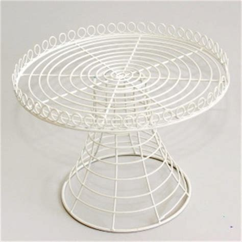 etagere draht wire cake stand large polkadot hire