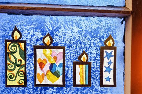 Fensterbilder Weihnachten Kinder by Fensterbild F 252 R Den Advent Familie De