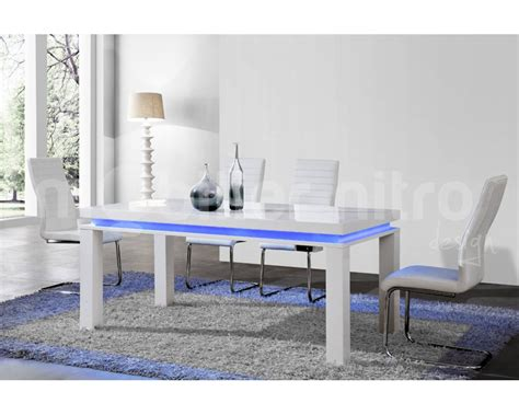 table salle a manger blanche pas cher table blanche laque pas cher meuble table a manger