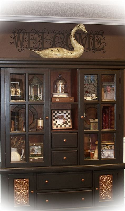 hutch in living room 17 best images about hutch decorating on shelves dining room hutch and country style