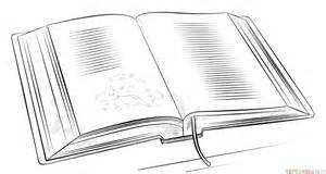 libro the drawing book an how to draw an open book step by step drawing tutorials