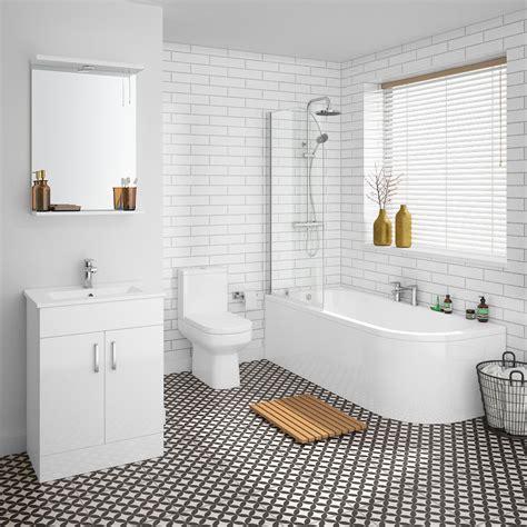 metro 1700mm shower bath suite plumbing uk