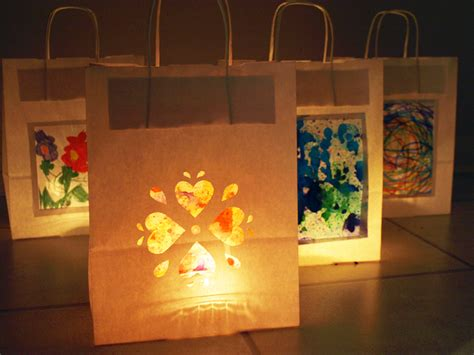 How To Make Paper Bag Lanterns - preserve your child s grant county library