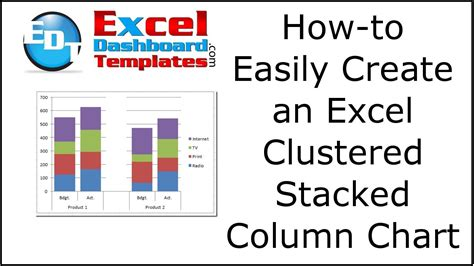 how to make graphs 10 best images of excel stacked column chart exles