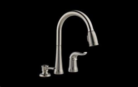 delta faucet 16970 sd dst kate single handle pulldown kitchen pull out spray faucet atg stores 16970 sssd dst kate single handle pull down kitchen faucet