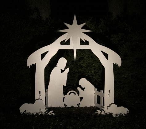 outdoor christmas lights nativity scene christmas outdoor nativity scene yard nativity set ebay