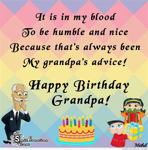 Happy Birthday Wishes To Grandfather Birthday Wishes For Grandpa Pictures And Graphics