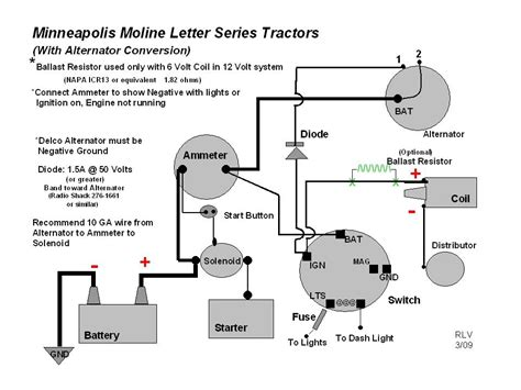 alternator wiring diagram tractor wiring diagram with