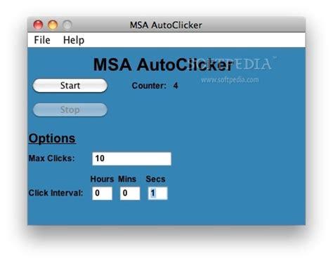 Auto Clicker Mac by Msa Autoclicker Mac